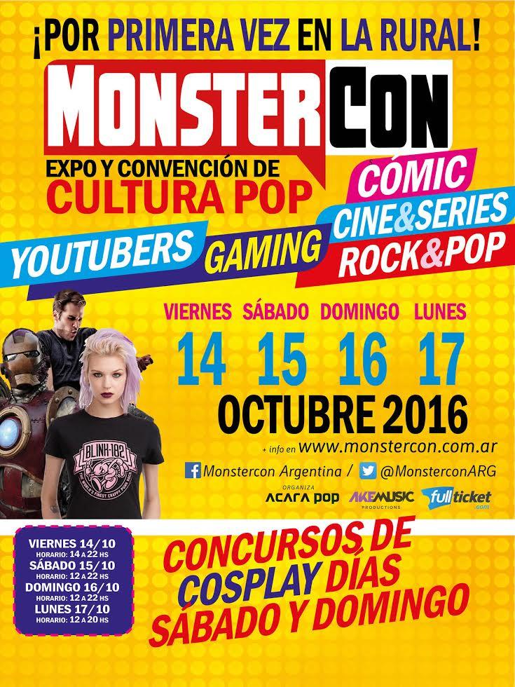 www.culturageek.com.ar MonsterCon 2016 evento argentina 2