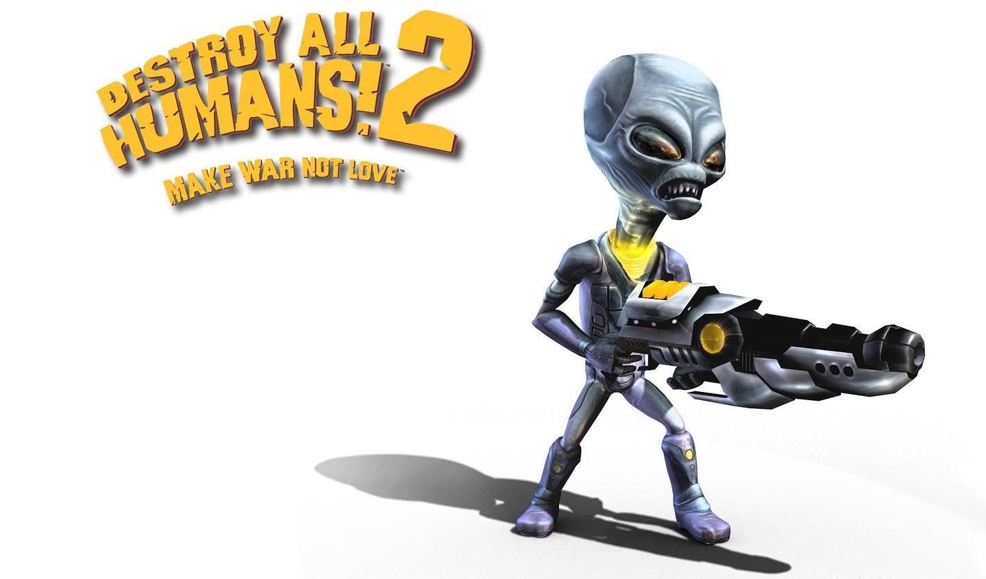 www.culturageek.com.ar Destroy All Humans! 2 Playstation 4 1