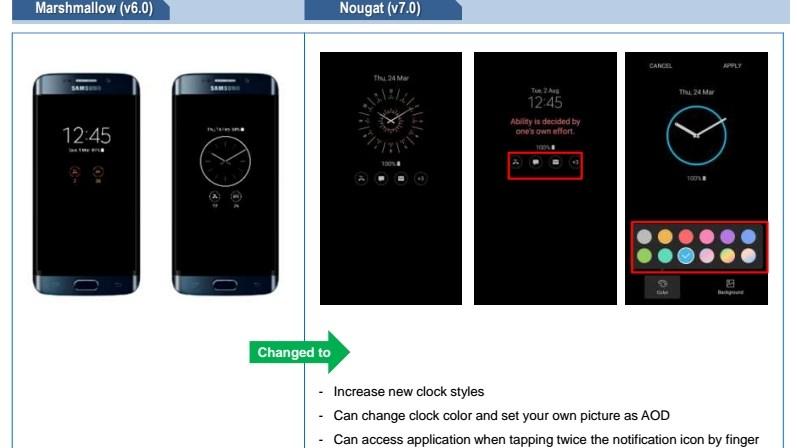 www.culturageek.com.ar Samsung S7 Nougat Cambios 3