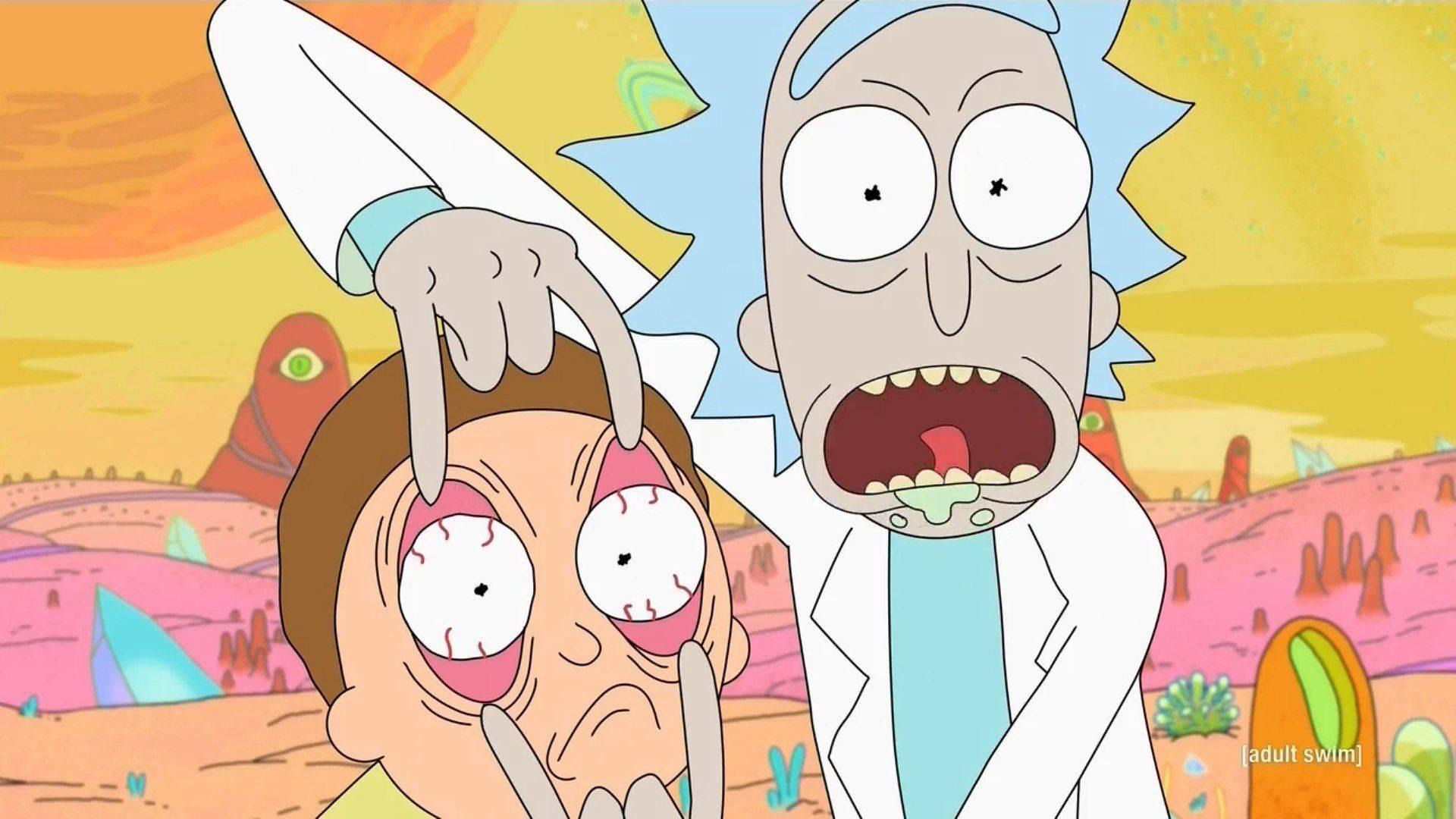 www.culturageek.com.ar Rick and Morty Estreno Tercera Temporada 2