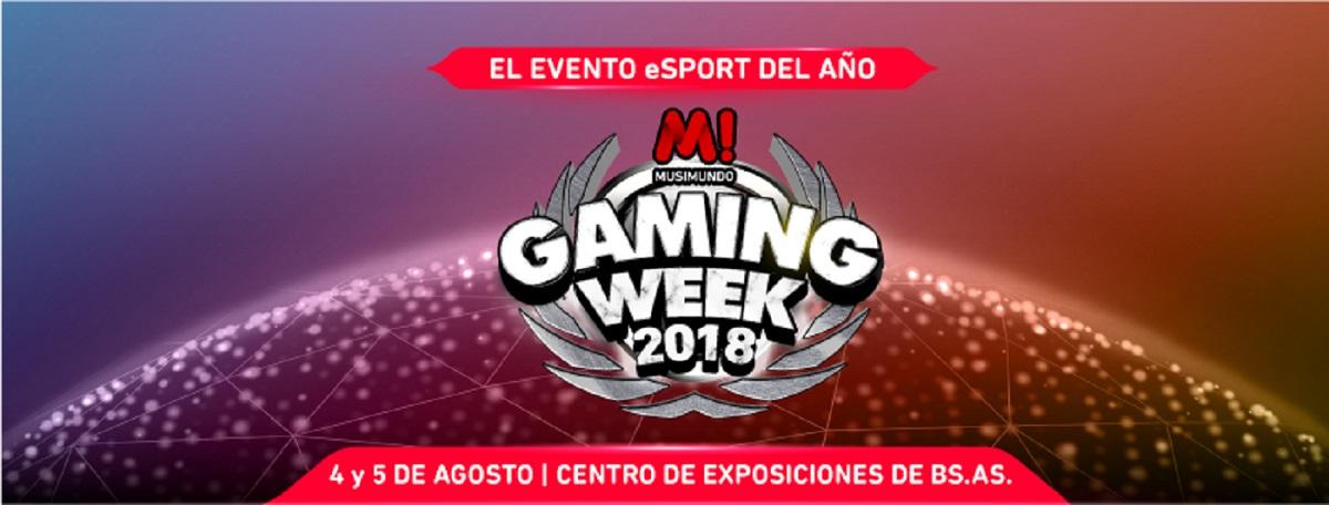 musimundo gaming week 2018