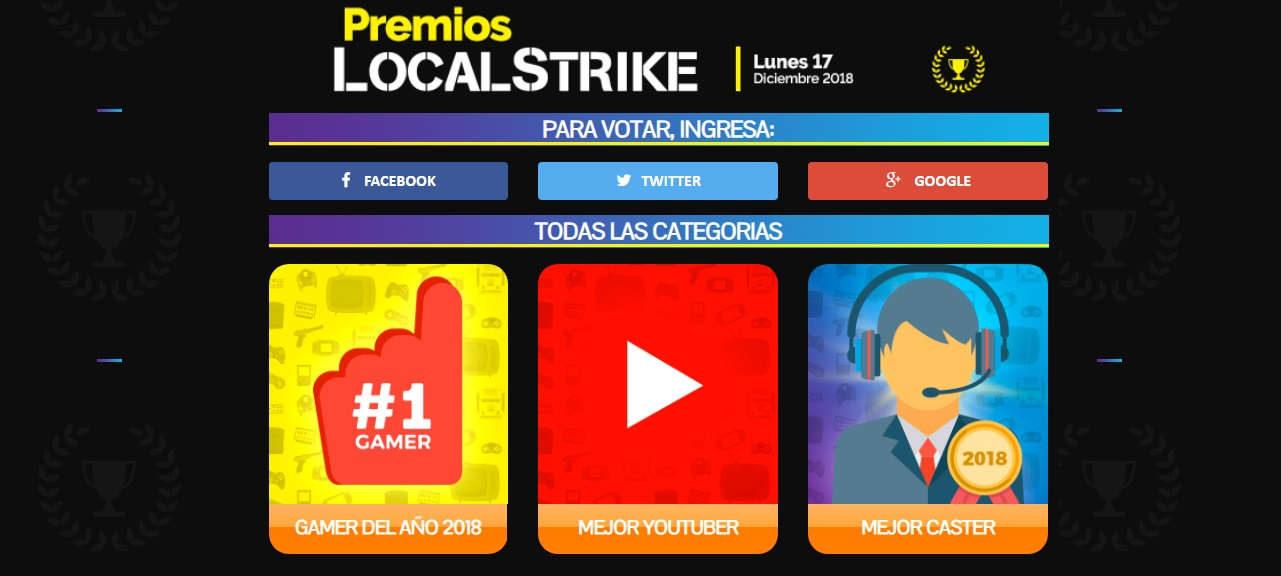 premios local strike
