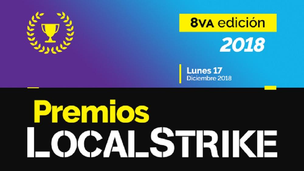 premios local strike 2018