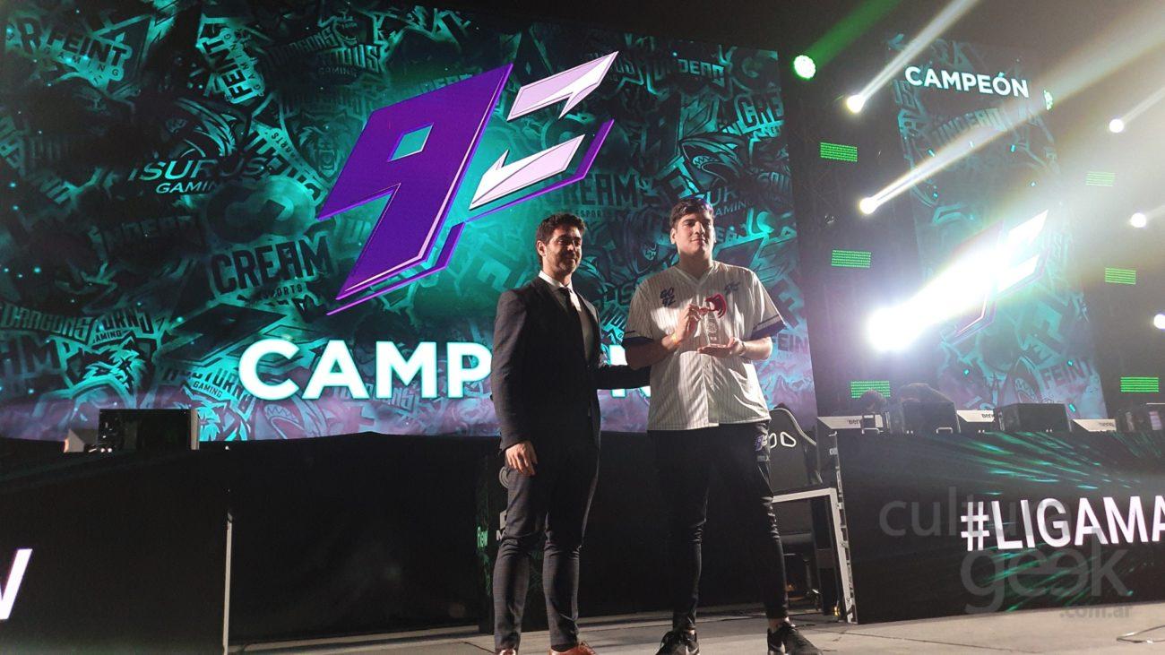9z campeón de LVP argentina