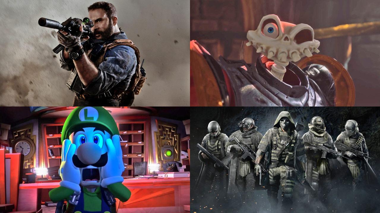 videojuegos de octubre