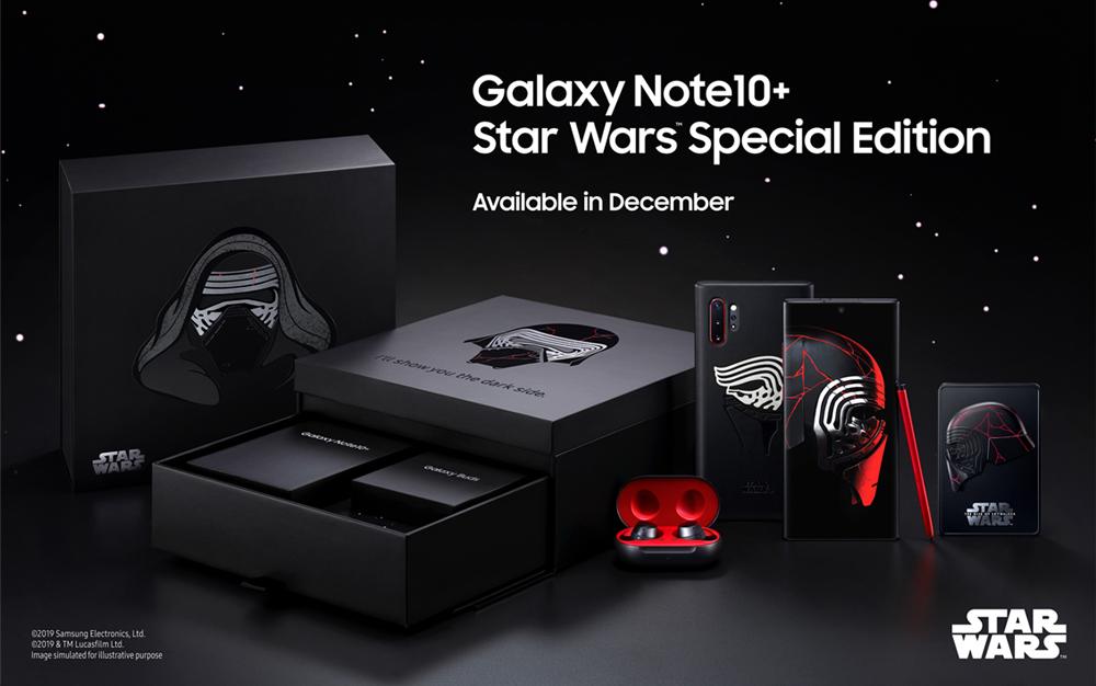 Galaxy Note 10 Star Wars www.culturageek.com.ar