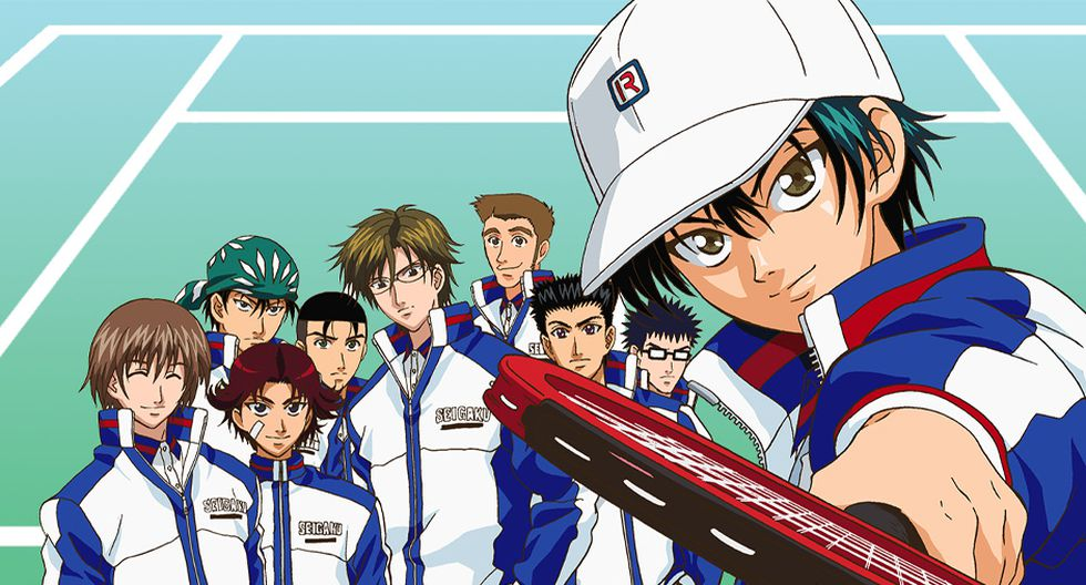 Anime de deportes - tennis