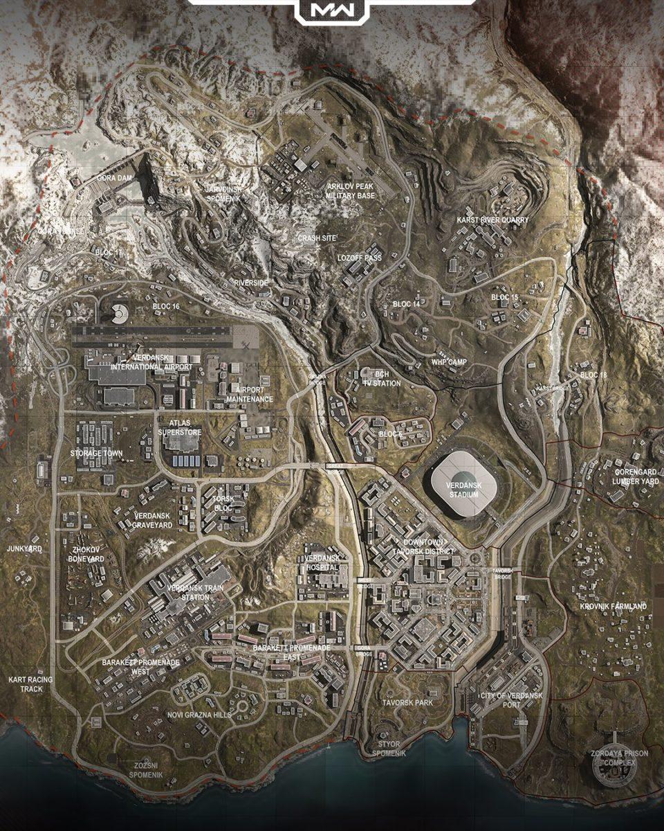 all of Duty Warzone Mapa www.culturageek.com.ar