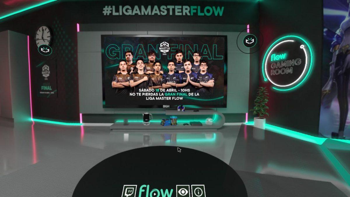 LVP LOL liga master flow virtual ROom