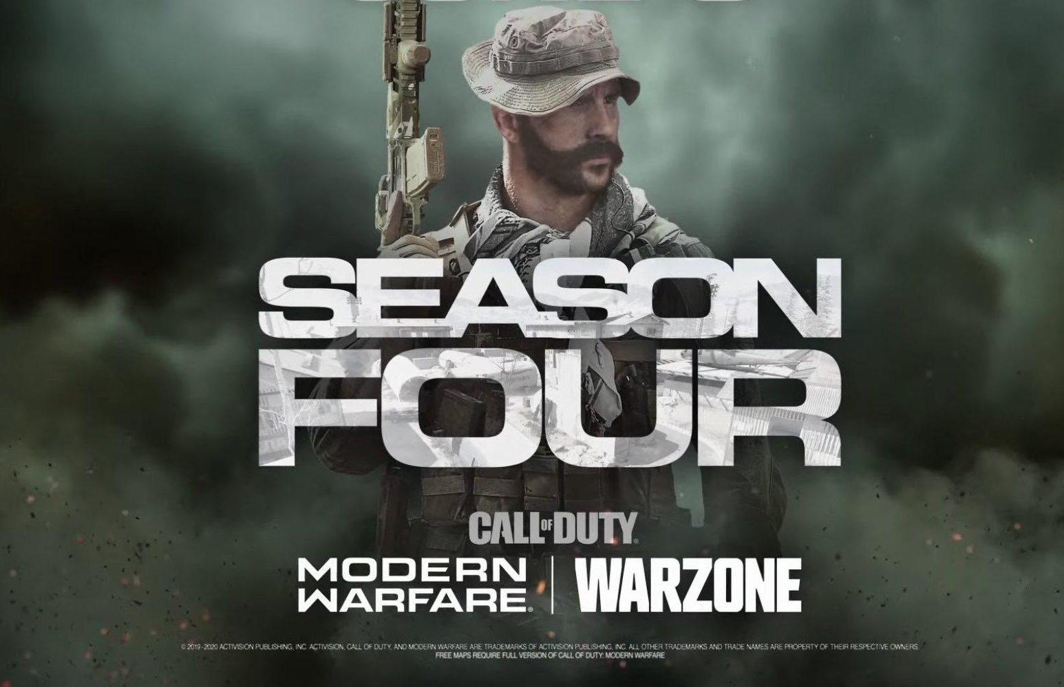 warzone season 4 temporada 4