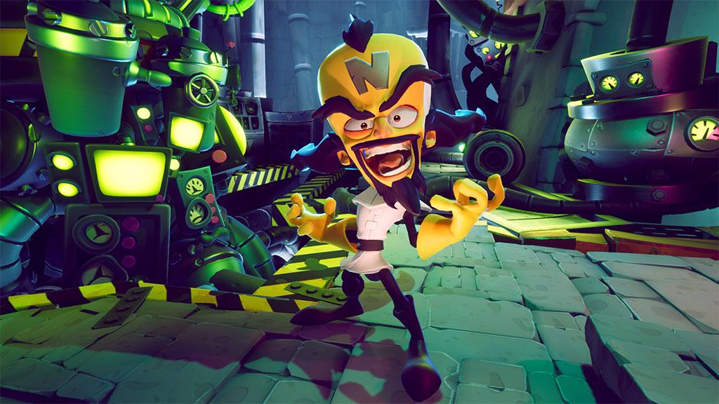 Crash Bandicoot Neo Cortex www.culturageek.com.ar