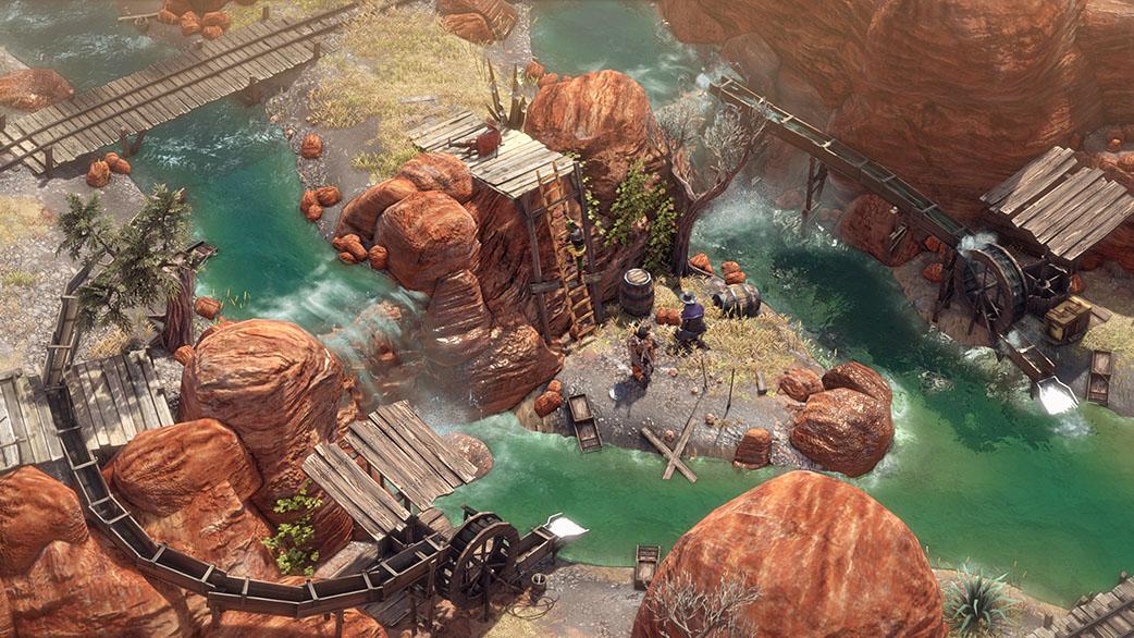 Desperados III entornos www.culturageek.com.ar