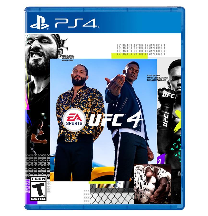 UFC 4 EA Cover