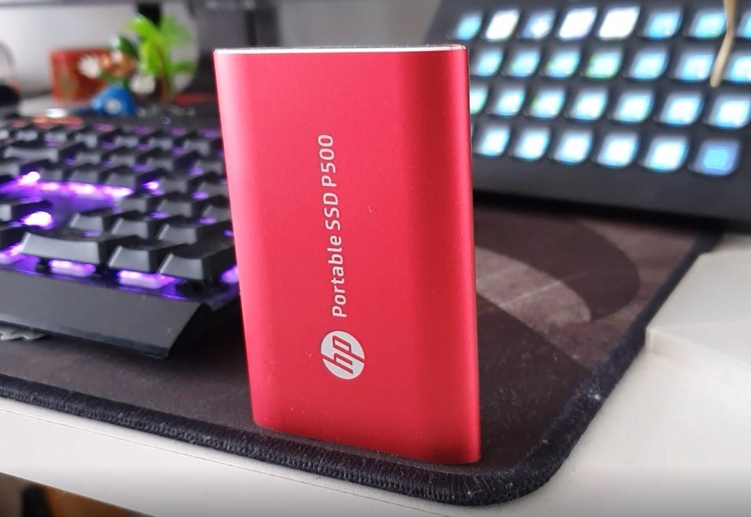 SSD p500 HP culturageek.com.ar