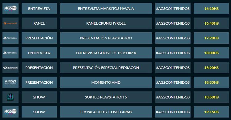 AGS2020-cronograma-sabado-CulturaGeek-1