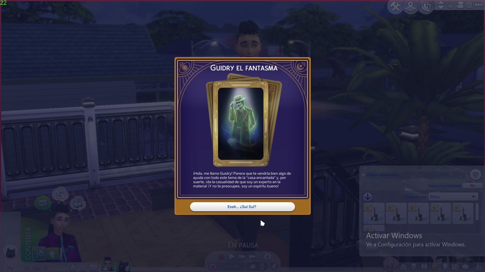 Sims 4 Fenómenos Paranormales