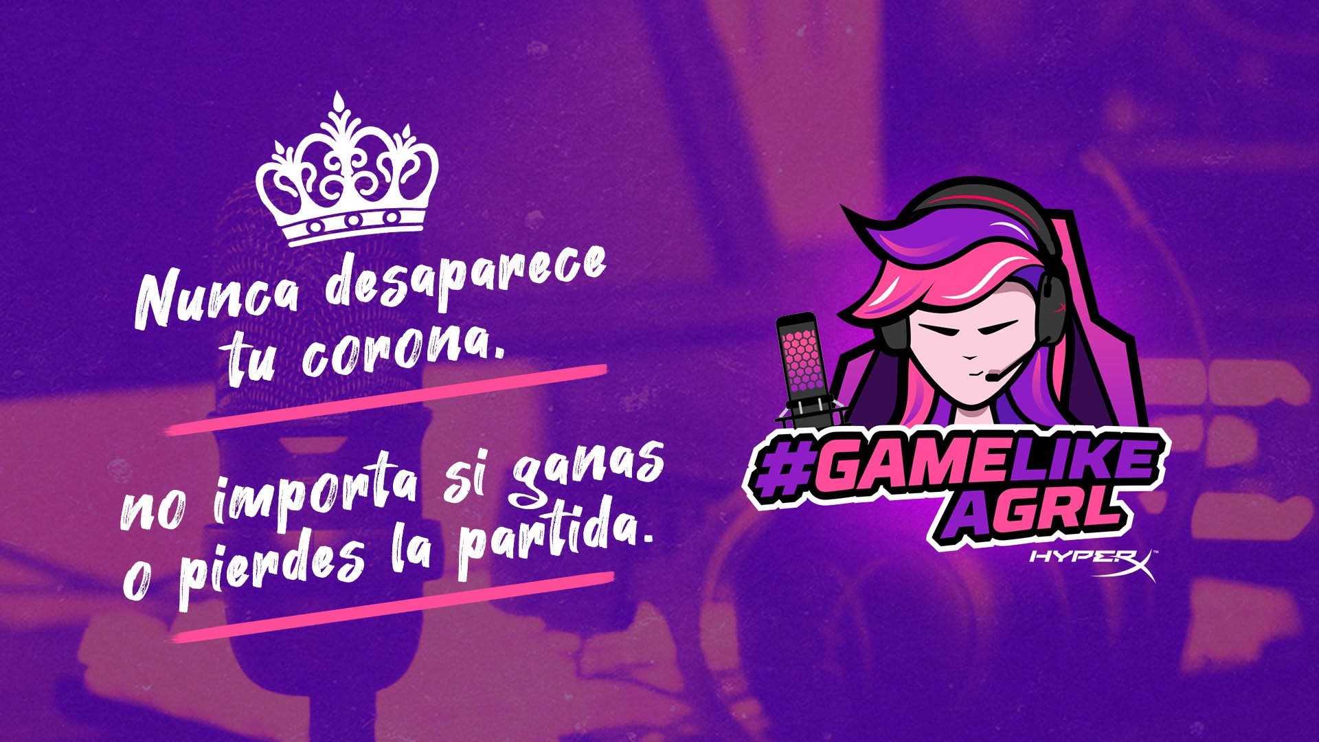 #GameLikeAGrl