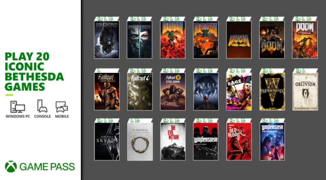 Xbox-Game-Pass-Bethesda