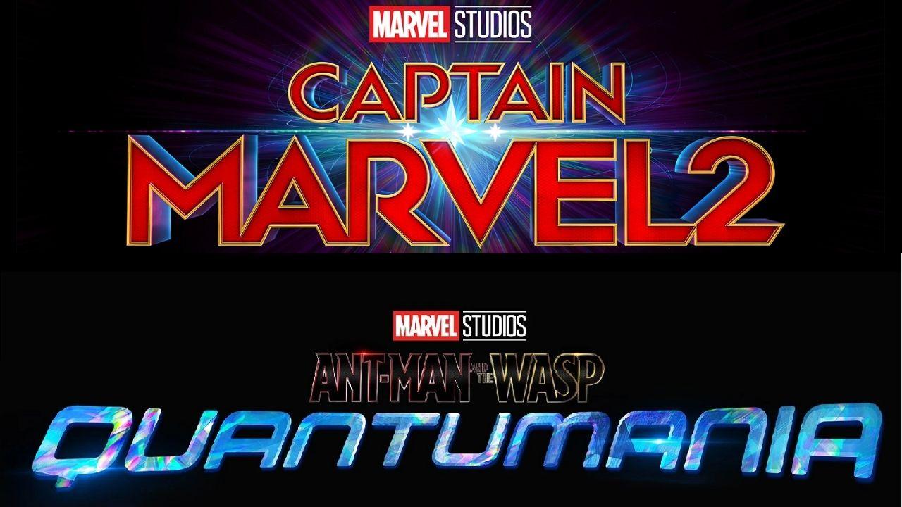 Captain Marvel Ant Man