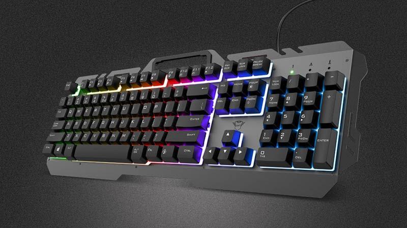 trust gaming teclados esca www.culturageek.com.ar