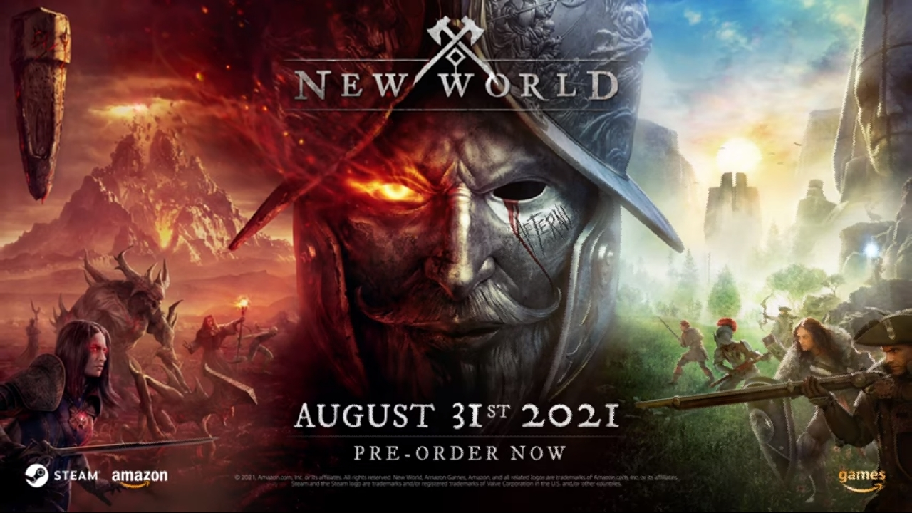 New World: Amazon Games unveiled the trailer for its new Open-World MMO game