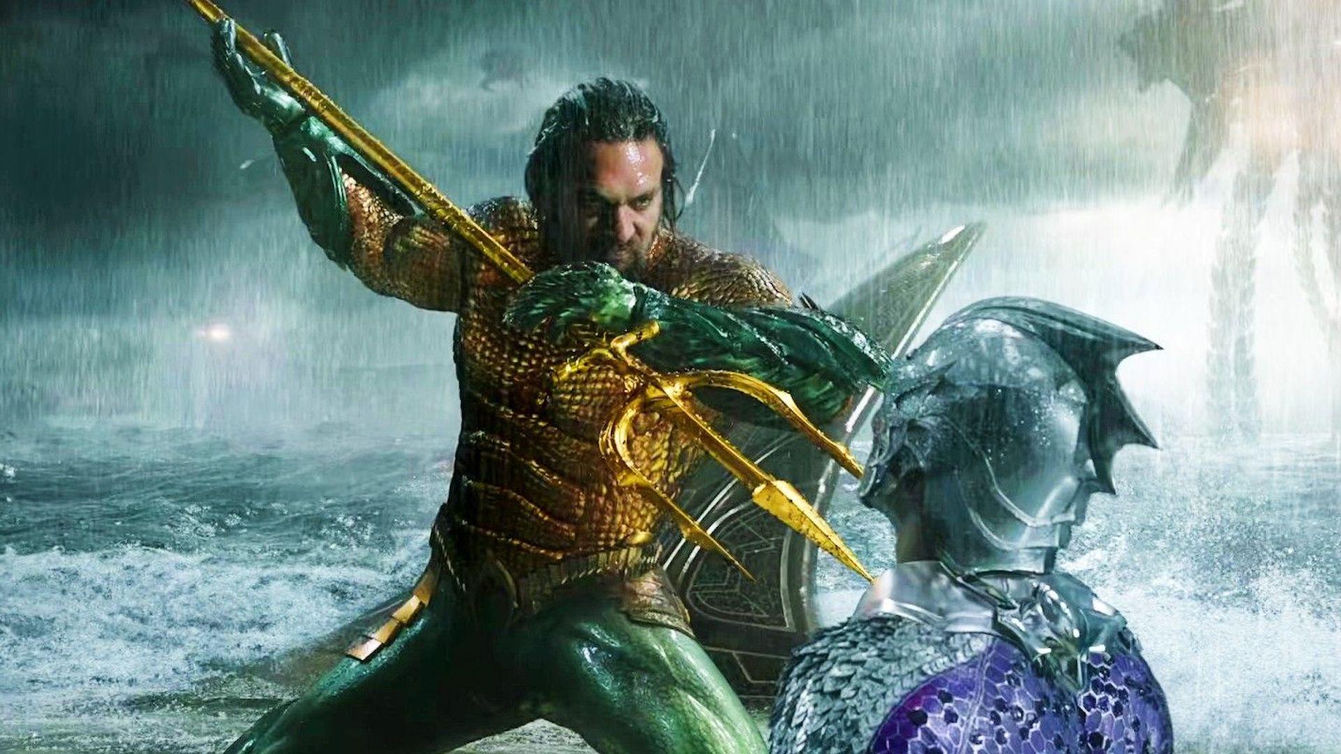 Aquaman traje