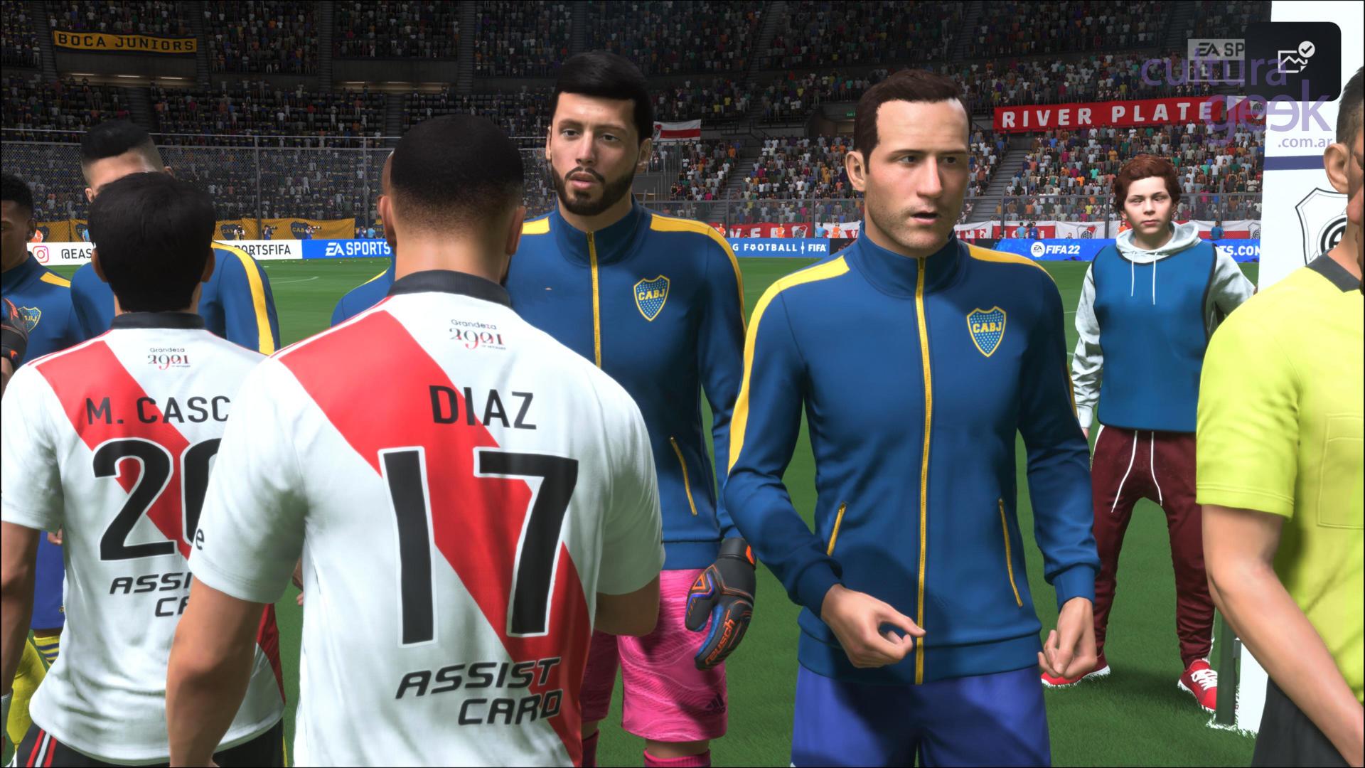 FIFA 22 River y Boca