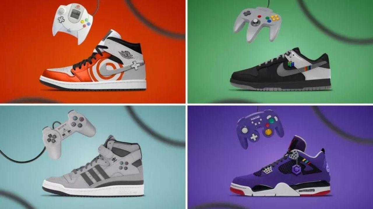zapatillas videojuegos