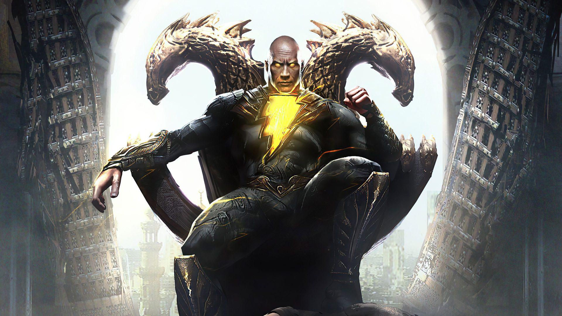 Black Adam DC FanDome